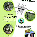 Stage vtt adultes - printemps 2014