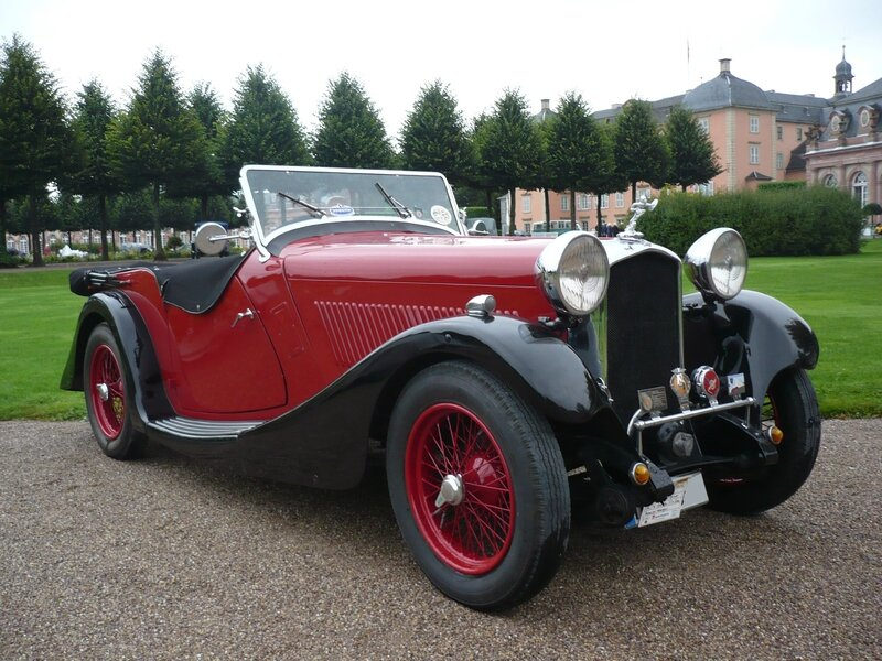 BRITISH SALMSON type 1270 Four Seater 1934 Schwetzingen (1)