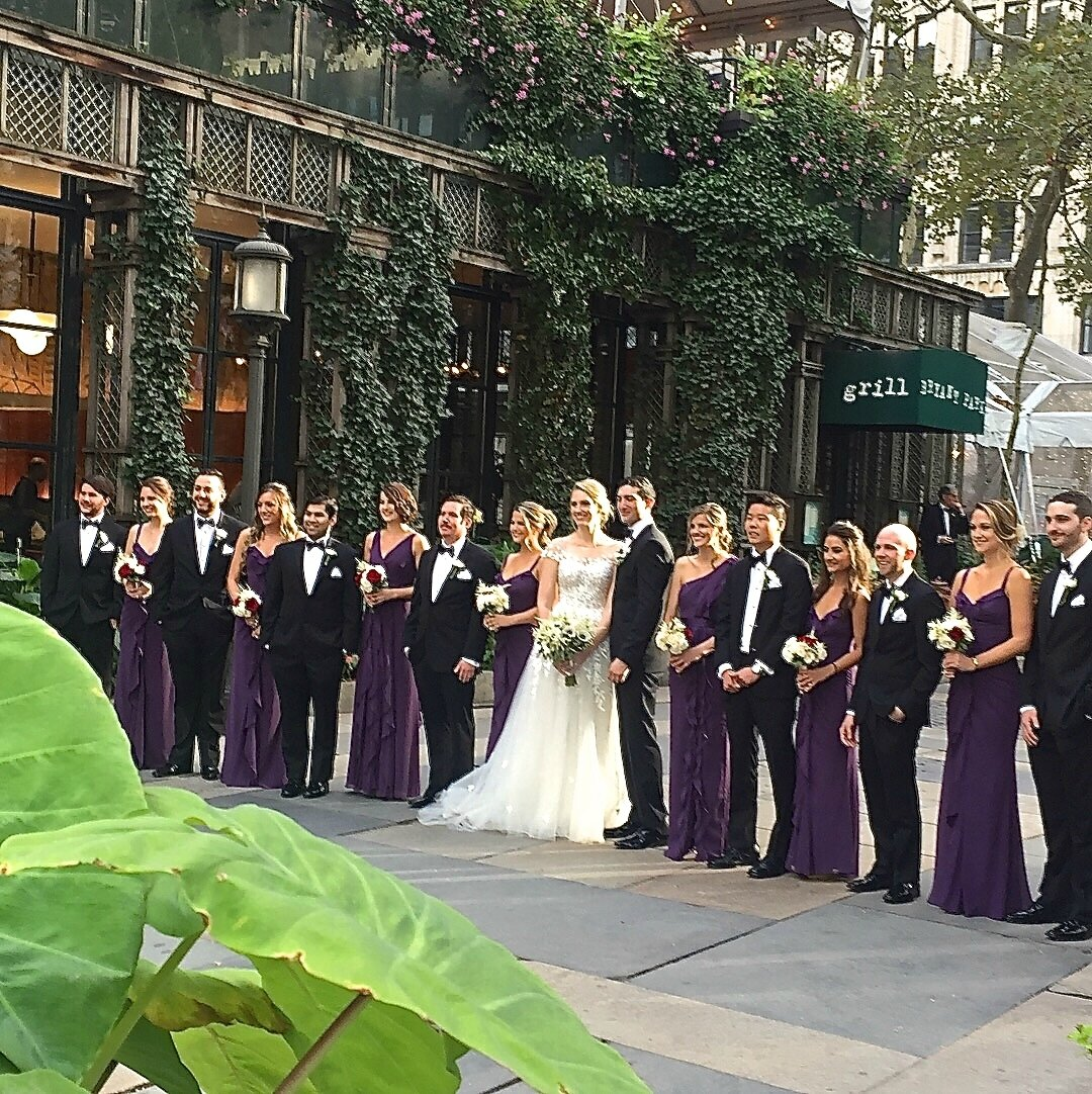 mariage à Bryant Park