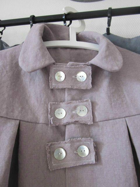 manteau d'été en lin rose fané (4)