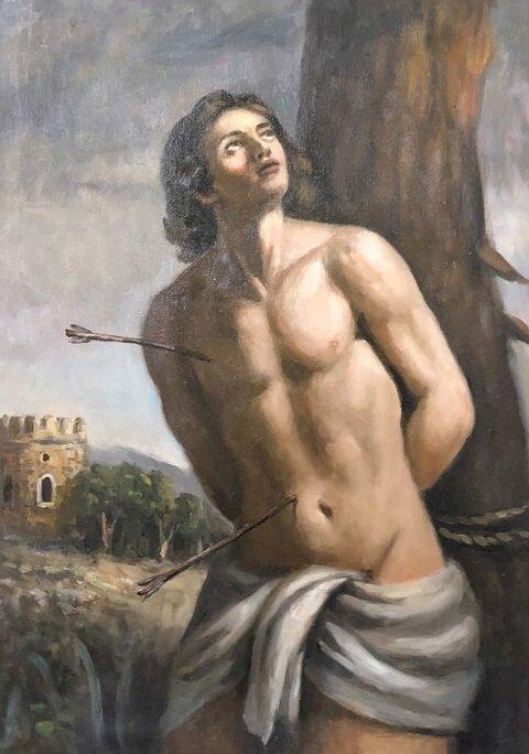 Peinture Classique 2 Saint Sebastien Anonymes
