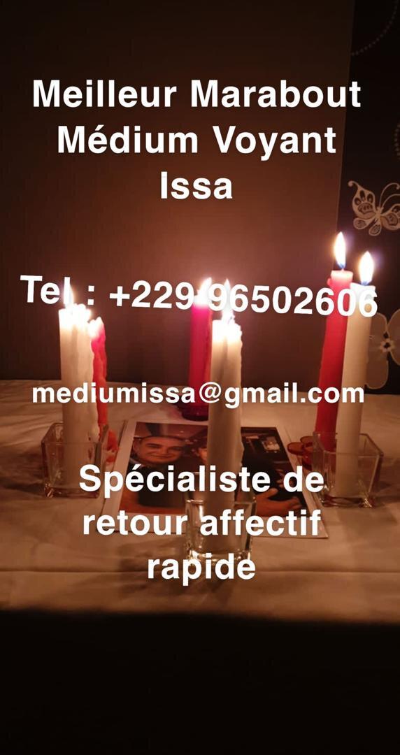 FAITES REVENIR VOTRE EX RAPIDEMENT PAR LE BIAIS DU RITUEL DU MEILLEUR MEDIUM DE RETOUR D'AFFECTION MEDIUM ISSA