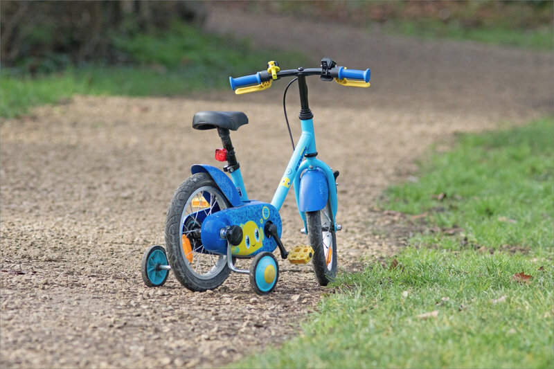 vélo tricycle bleu 260120