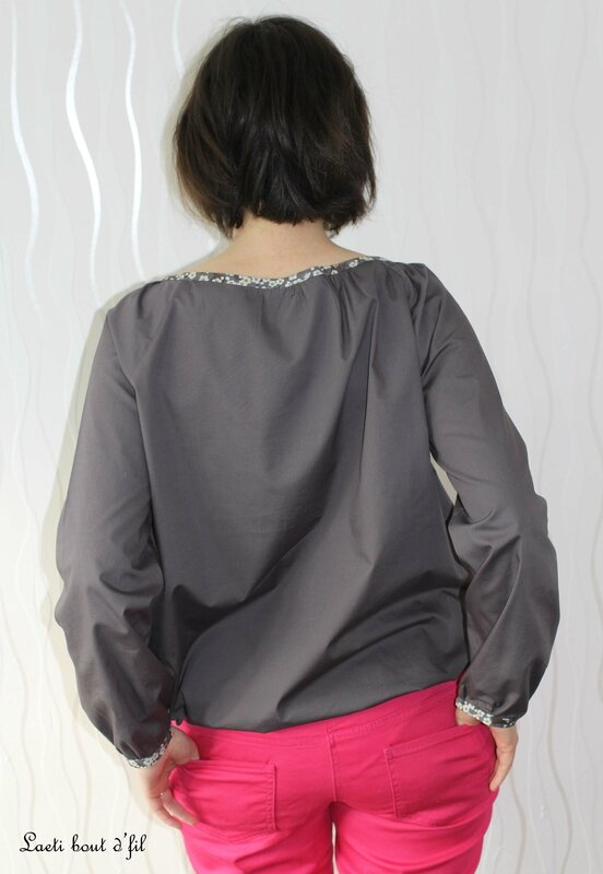 blouse intemporels dos