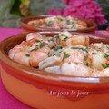Crevettes poissons marinés2