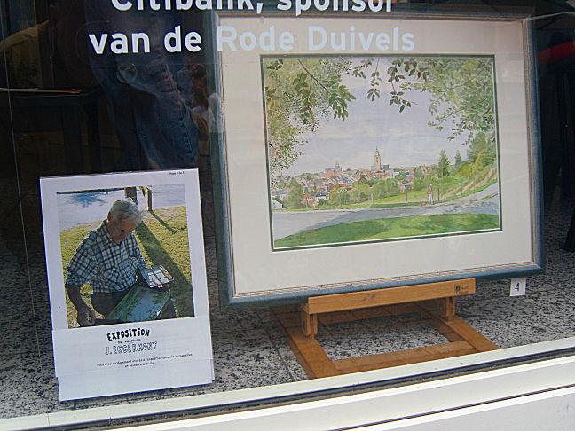 exposition de peintre eggermont jacques ( banque )08