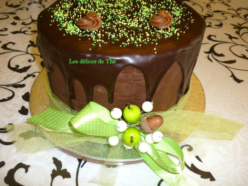 Layer cake tout chocolat Mariage 06 05 17 (13)