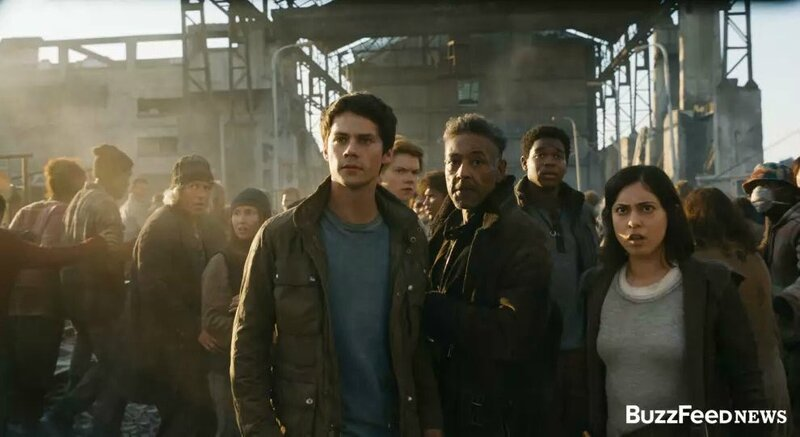 The Maze Runner-Death Cure movie 01