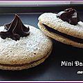 Mini dartois au chocolat