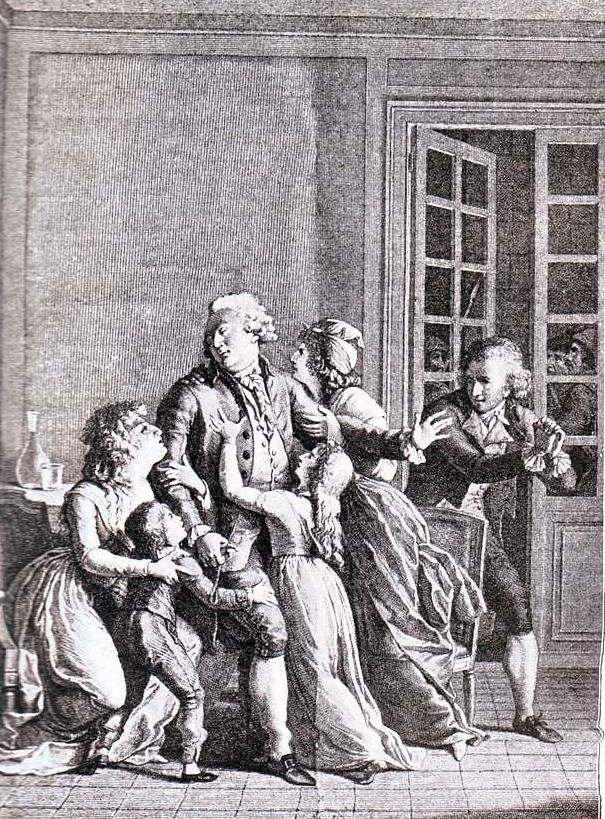 Le 21 janvier 1793, il y a 225 ans : Récit de la veille au moment de l'exécution de Louis XVI.