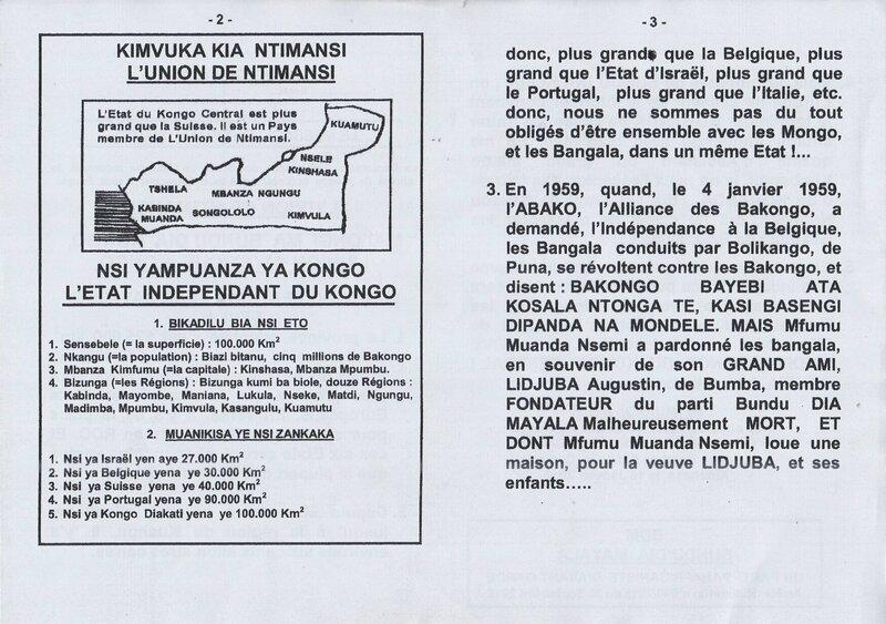 LE KONGO CENTRAL FERA CAVALIER SEUL b