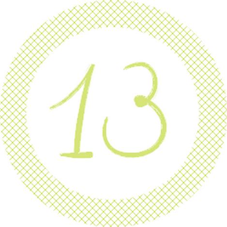 13 vert