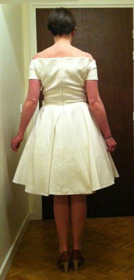 Robe de mariée Catherine originale dos