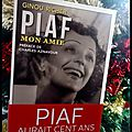 Piaf, mon amie -ginou richer.