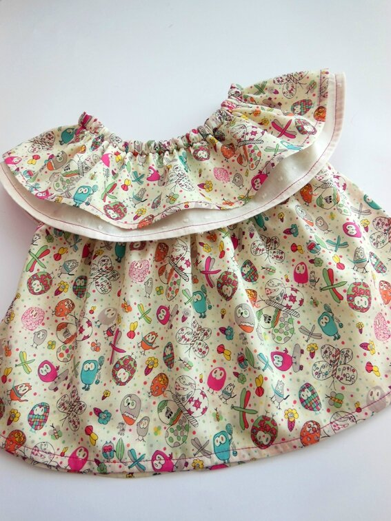 Tenue cookie et cupcake Lou&me12M 1-25