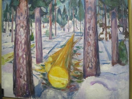 Le tronc jaune 1911-1912