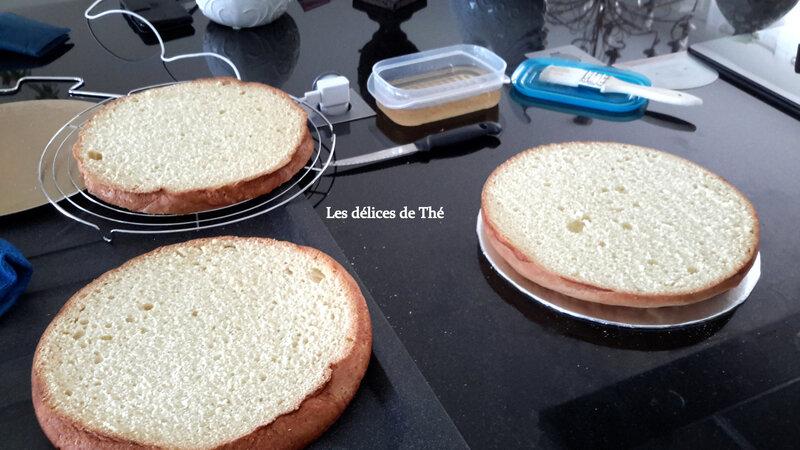 Wedding cake génoise ganaches 3 chocolats Théme Coquillages Mariage Domi Eric 28 04 18 (30)