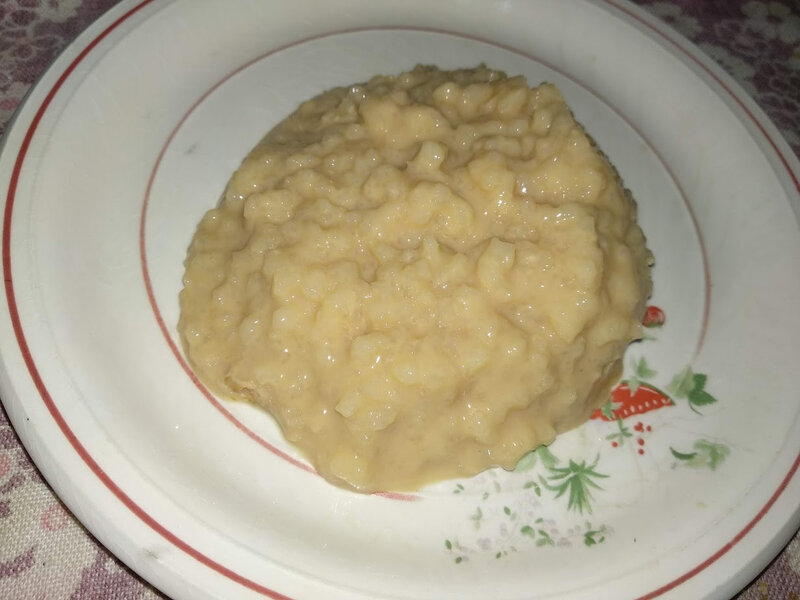 Teurgoule ou riz au lait cuit au four à la normande