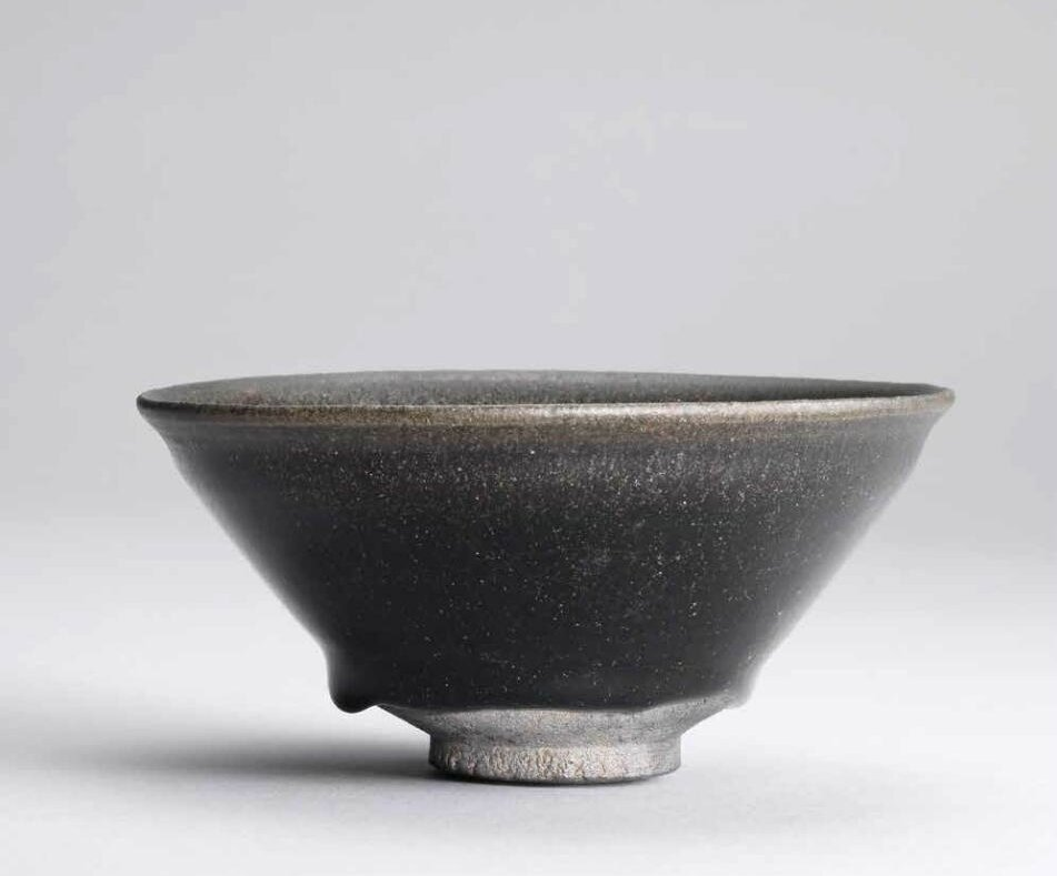 A rare Jian 'silver hare's fur' tea bowl, Southern Song dynasty (960-1279)