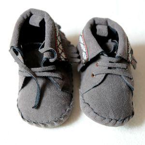 chaussons frangés