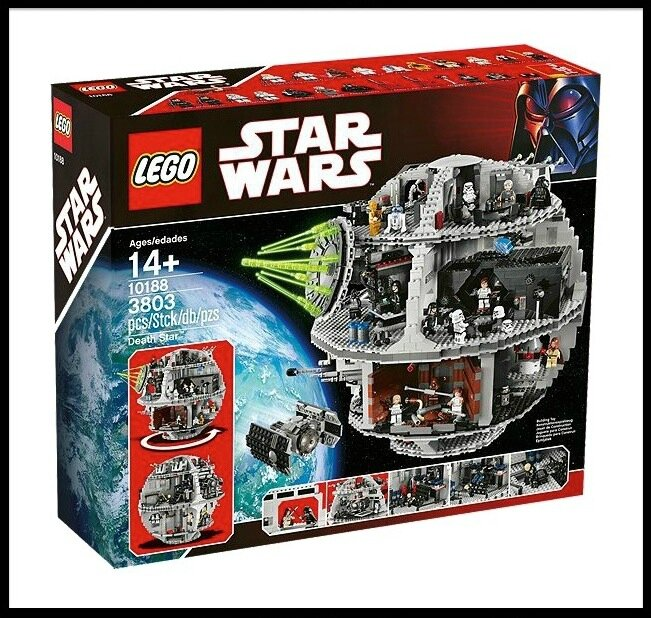 lego star wars death star 1