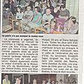 Le concert du 21 mai 2017 dans la presse