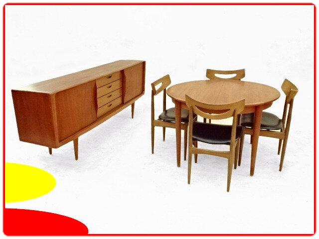 Enfilade Klein table chaises samcom danemark