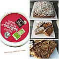 Cake aux écorces d'oranges confits ( 200 cal/ la part)