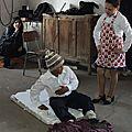 Actuando en el Acto dieciochero en la Lautaro