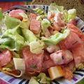 Une salade bien fraîche et croquante s'il vous plait!!