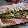 Sandwich parisien / italien