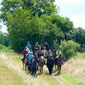 RandoBaie 2014 - balade équestre sur la piste des JEM (133)