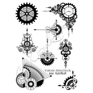 steampunk-swirl-a5-tampons-dcoratifs-ktz112