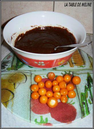 muffins au chocolat et physalis (pommes d'amour) 002