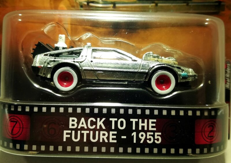 De Lorean DMC-12 Back to the Future 1955 (Hotwheels) 02