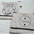 pochette zippée Paris 5