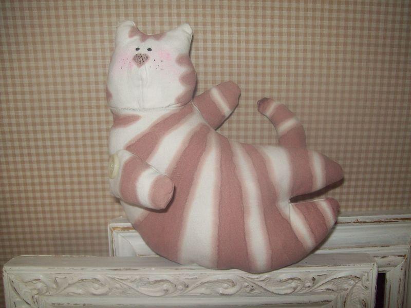 Chat peint