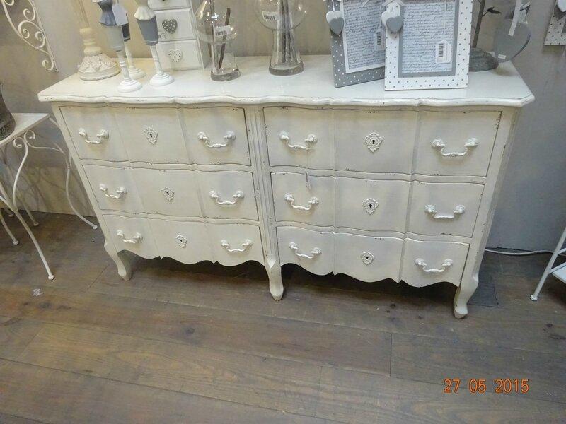 Grande commode 6 tiroirs meubles et d coration amadeus for Meuble ypres