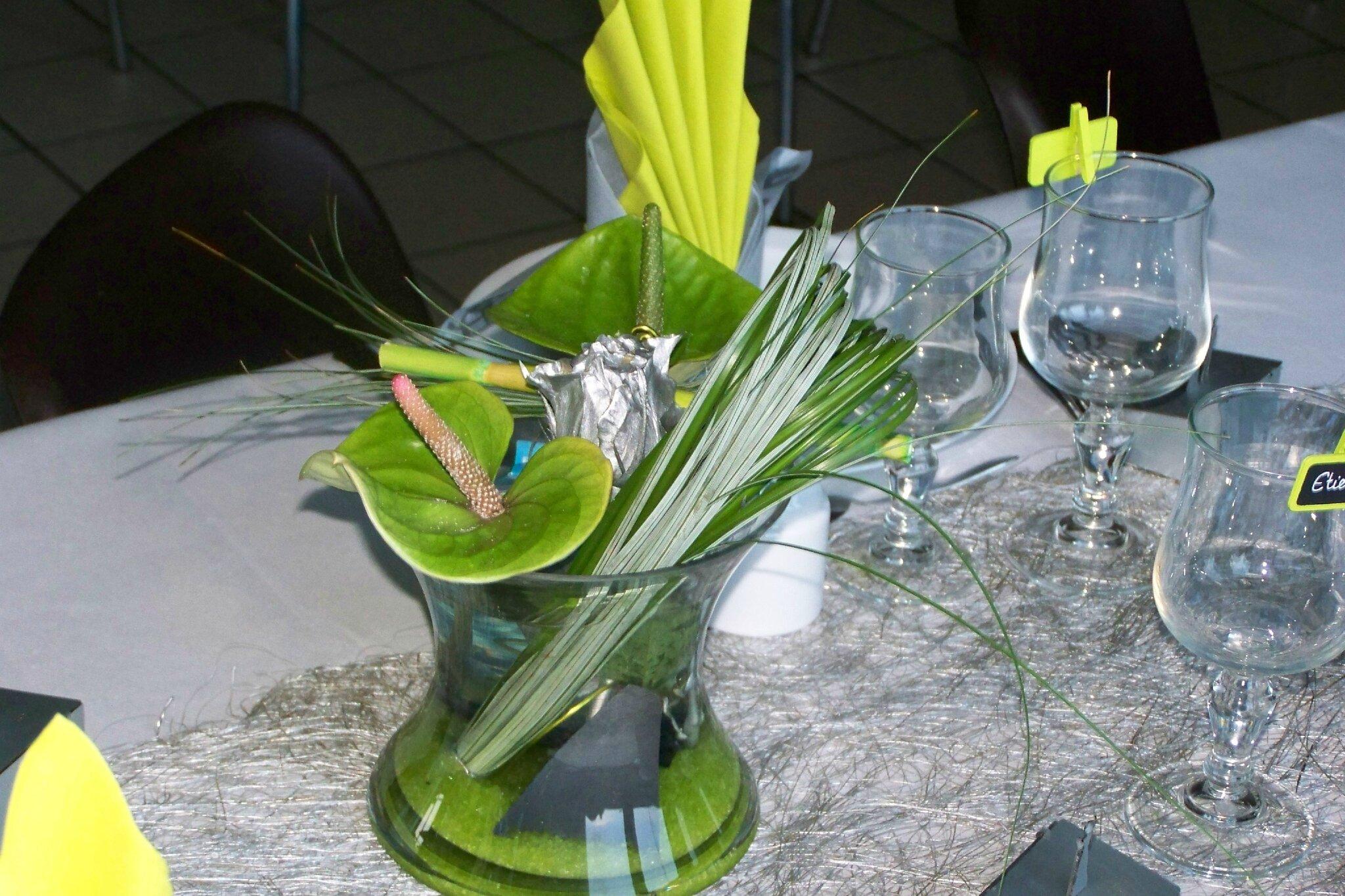 magnifique mariage couleur choisi vert et gris les folies d 39 ana. Black Bedroom Furniture Sets. Home Design Ideas