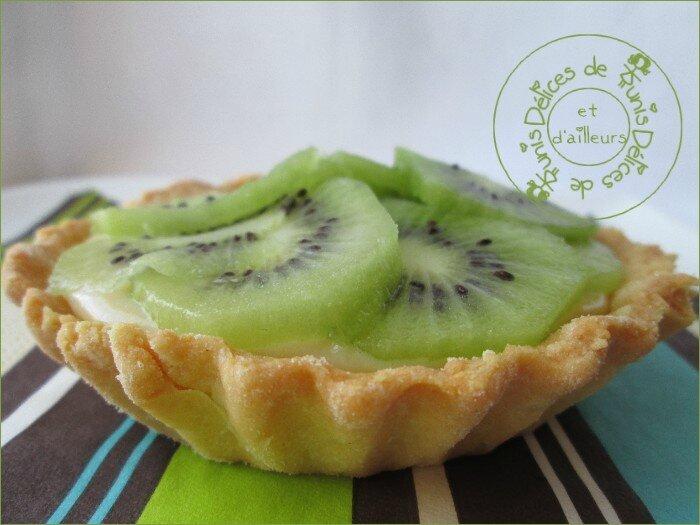 tartelettes - tarte au kiwi 1