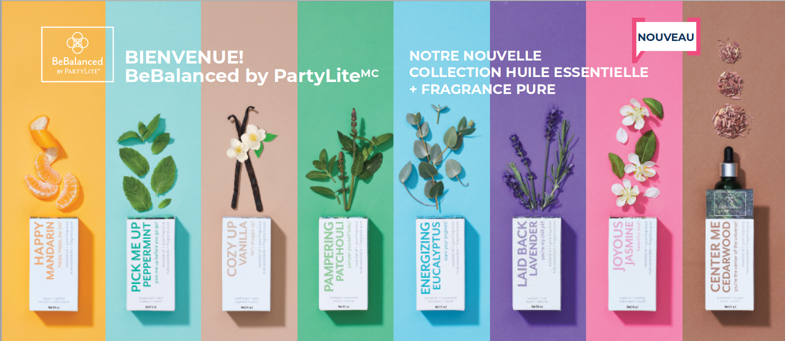 Collection BeBalanced by PartyLiteTM