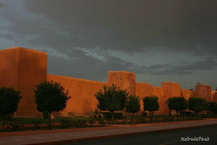 Orage sur Marrakech