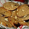 Cookies aux cacahuètes et chocolat au lait végan