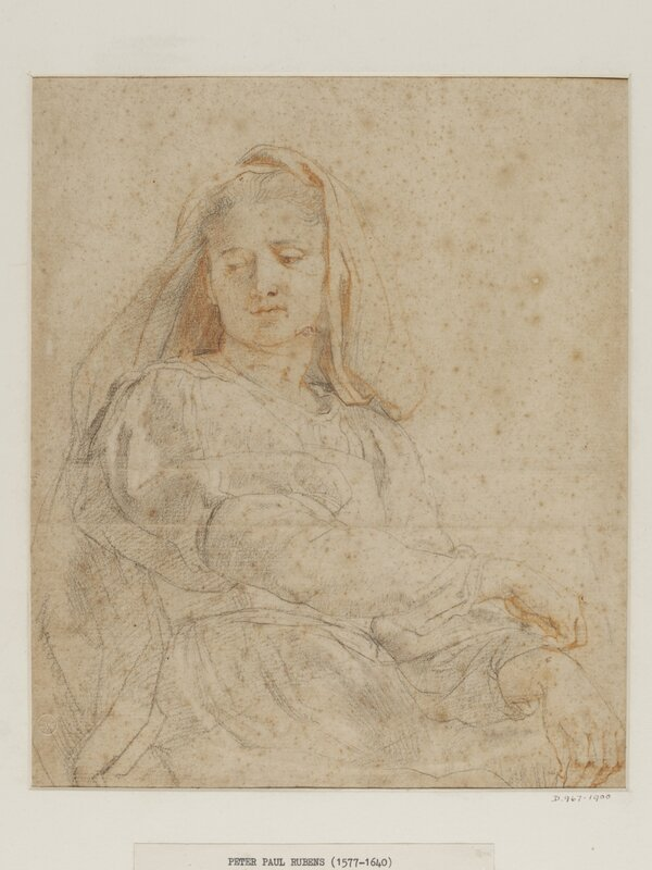 Study_of_a_seated_woman_The_Virgin_Peter_Paul_Rubens_c