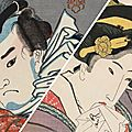 Two japanese master printmakers go head to head in