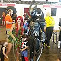 Poison Ivy, grosse armure, et Chibi-Harley