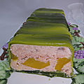 Terrine saumon mangue gingembre