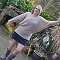 Le pull d'alexina + photos du pull porté ....