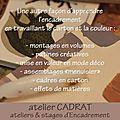 blog 15-18 e- cours et stages-enseignement-formation-Encadrement_Patines-atelier Cadrat Paris