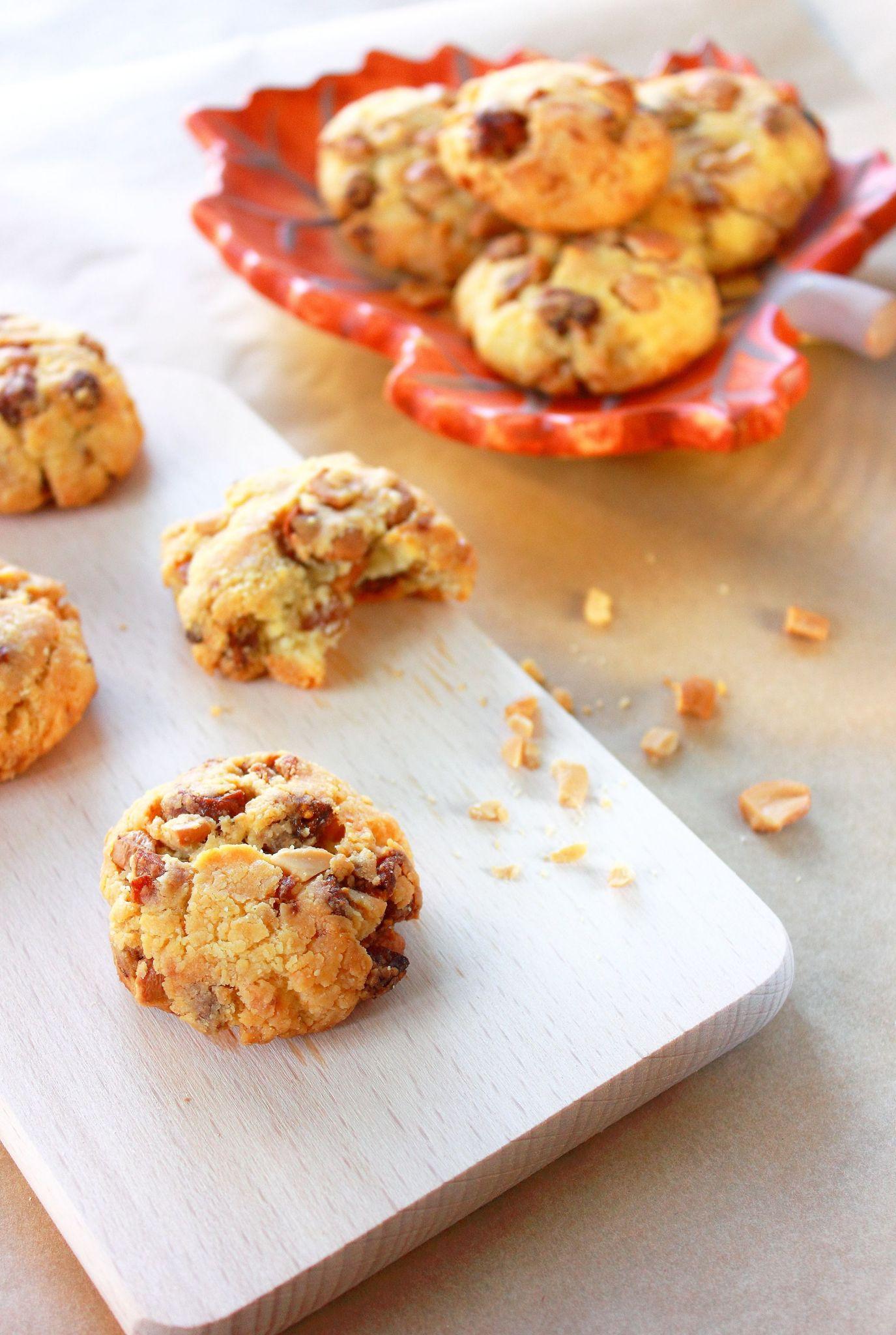 Cookies au parmesan, figues et noix de cajou4